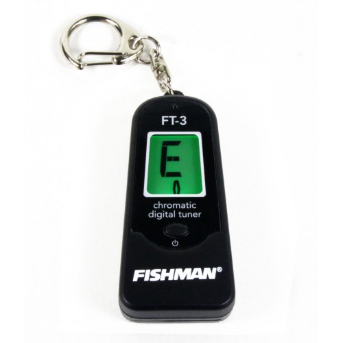 Fishman FT-3 Digital Chromatic Keychain Tuner
