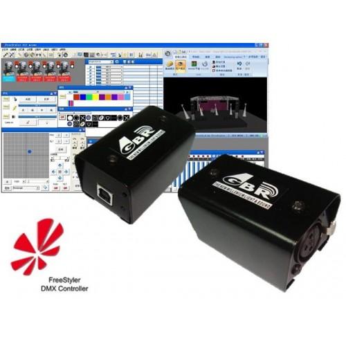 GBR DMX Light Pro Usb Interface