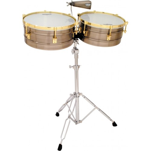 Timbal Latin Percussion Matador Brushed Nickel