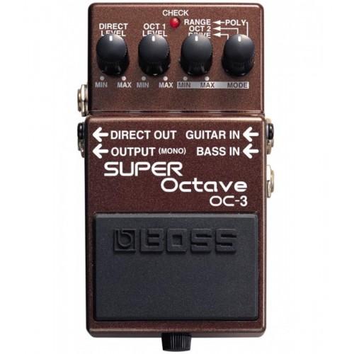 """Boss OC-3 Pedal Compacto """"Super Octave"""""""