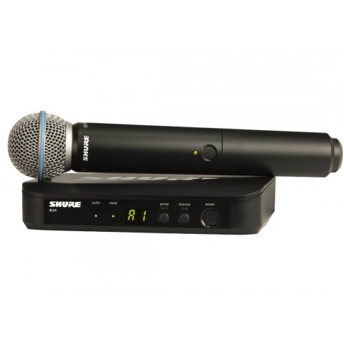 Shure BLX24/Beta 58 Wireless System