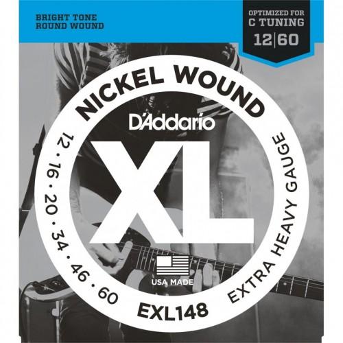 Cuerdas D'Addario EXL148 Nickel Wound Extra Heavy
