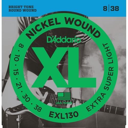 Cuerdas D'Addario EXL 130 Extra Super Light