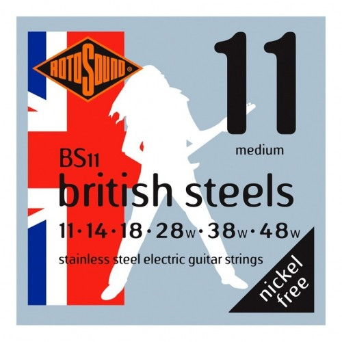 Cuerdas Rotosound BS11 British Steels