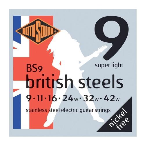 Cuerdas Rotosound BS9 British Steels
