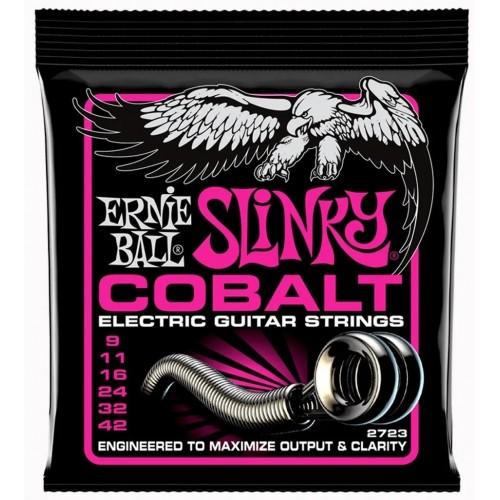 Cuerdas Ernie Ball Slinky Cobalt
