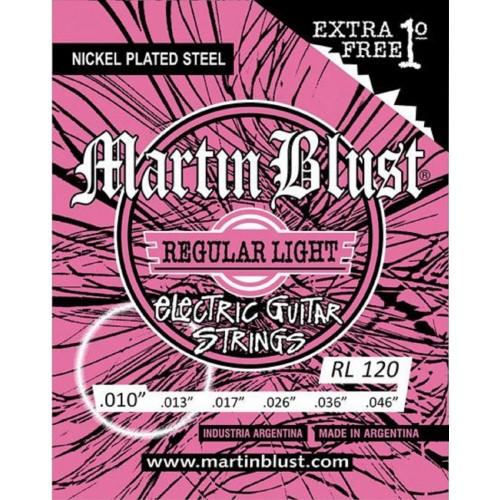 Cuerdas Martin Blust RL120