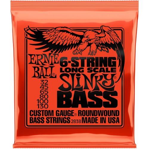Cuerdas Ernie Ball Nickel Wound Bass Long Scale Slinky