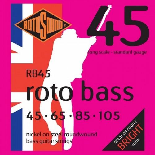 Cuerdas Rotosound RB45 Nickel Steel Bright Tone