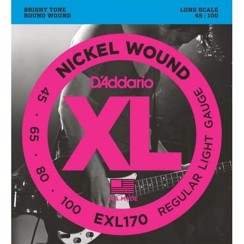 Cuerdas D'Addario EXL 170 Regular Light Gauge