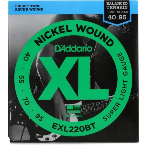 Cuerdas D'Addario EXL 220BT Súper Light Gauge