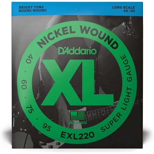 Cuerdas D'Addario EXL 220 Súper Light Gauge