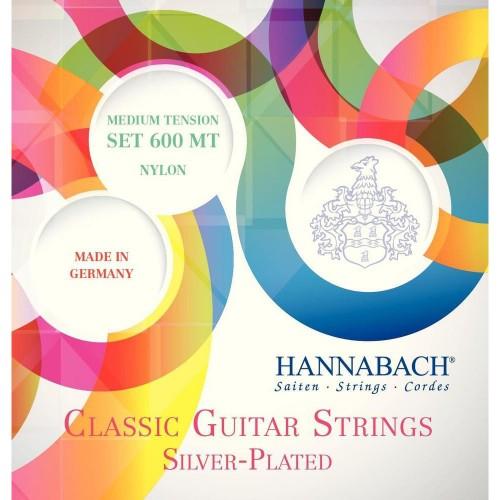 Cuerdas Hannabach 600MT Silver Plated Medium Tension