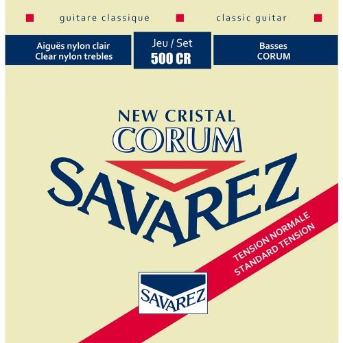 Cuerdas Savarez 500CR New Cristal Corum Normal Tension