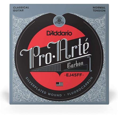 Cuerdas D'Addario EJ45FF ProArte Carbon