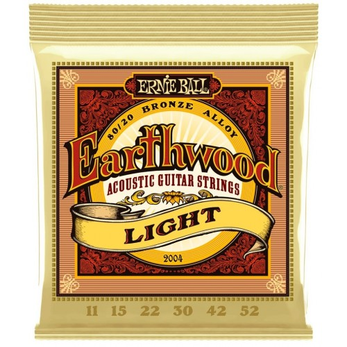 Cuerdas Ernie Ball Earthwood Light
