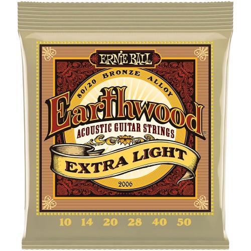 Cuerdas Ernie Ball Earthwood Extra Light