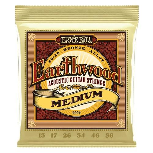 Cuerdas Ernie Ball Earthwood Medium