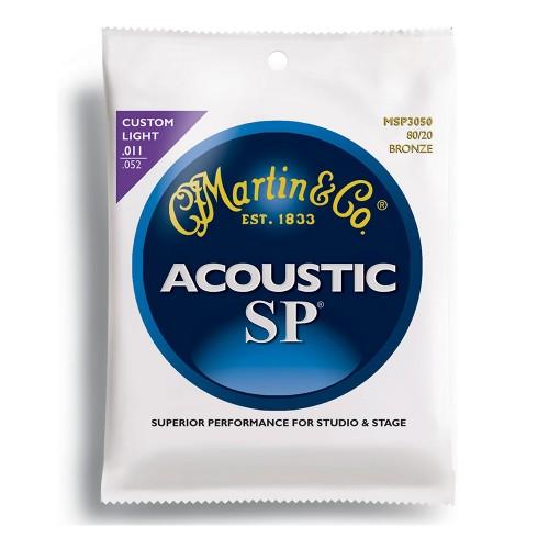 Cuerdas Martin & Co MSP3050 SP Acoustic 80-20 Bronce