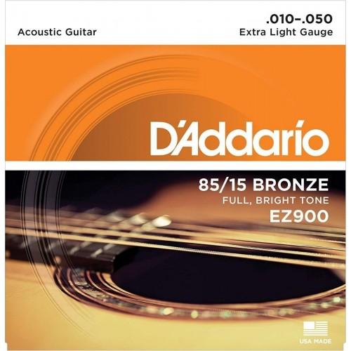 Cuerdas D'Addario EZ900 Extra Light Gauge