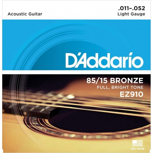 Cuerdas D'Addario EZ910 Extra Light Gauge