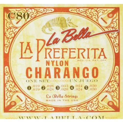 Cuerdas La Bella C80 Nylon Charango