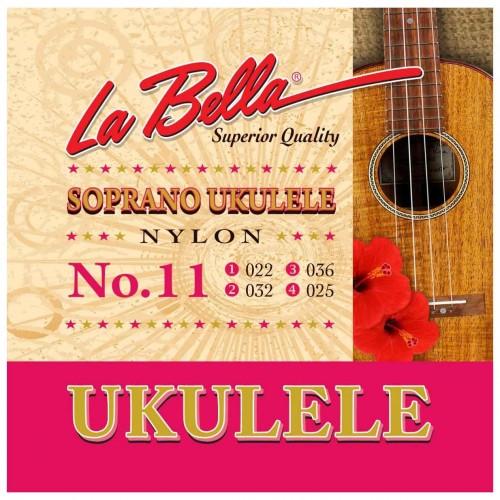 Cuerdas La Bella N° 11 / N° 12 Ukelele