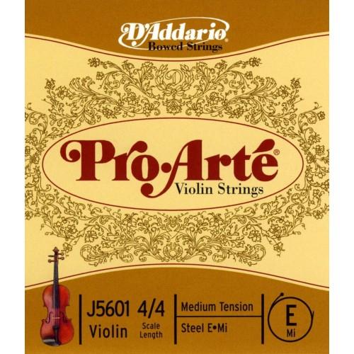 Cuerdas D'Addario J5601 Pro Arte Violin