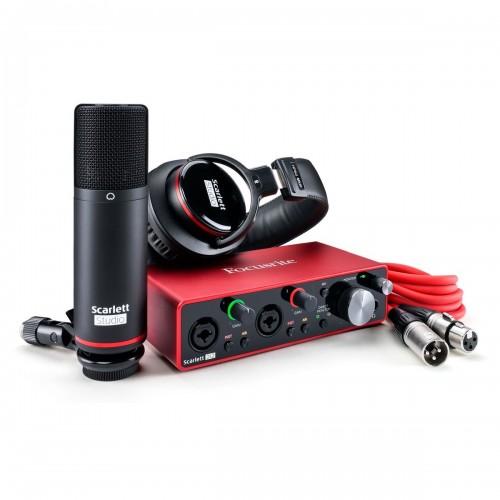 Focusrite SCARLETT 2i2 3G Studio Kit